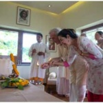 Inaugurating Babaji's Kutir at Kamalaya temple in Thailand
