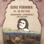 Gurupurnima in Switzerland –   24th to 28th July 2018
